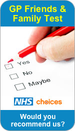 Would you recommend Hednesford Medical Practice to Friends and Family?